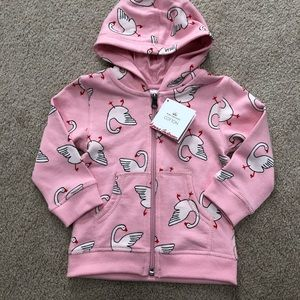 2T Hanna Andersson Hoodie NWT